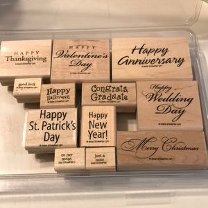 Stampin' Up! Set- All-Year Cheer III